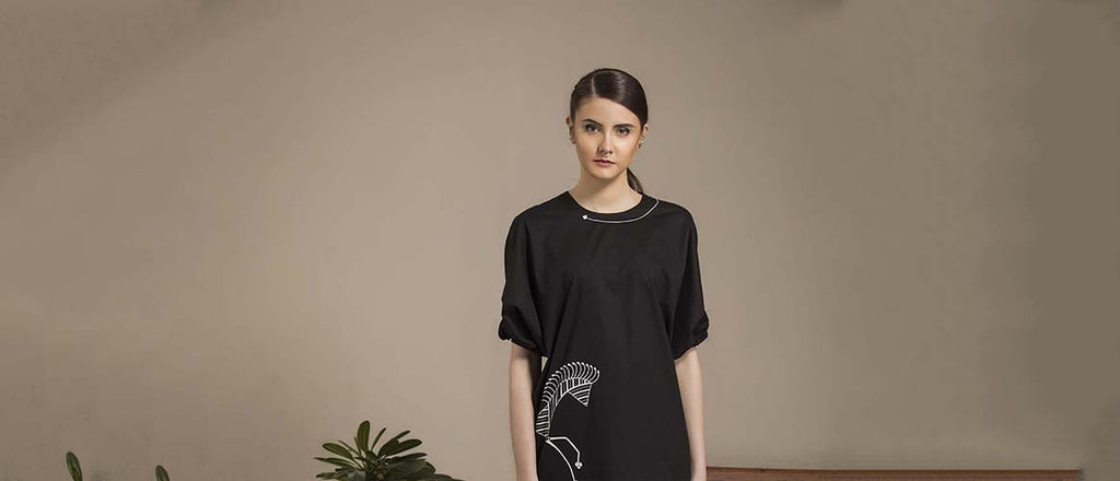 Tribal Art 'Warli' for Modern Fashion Wear