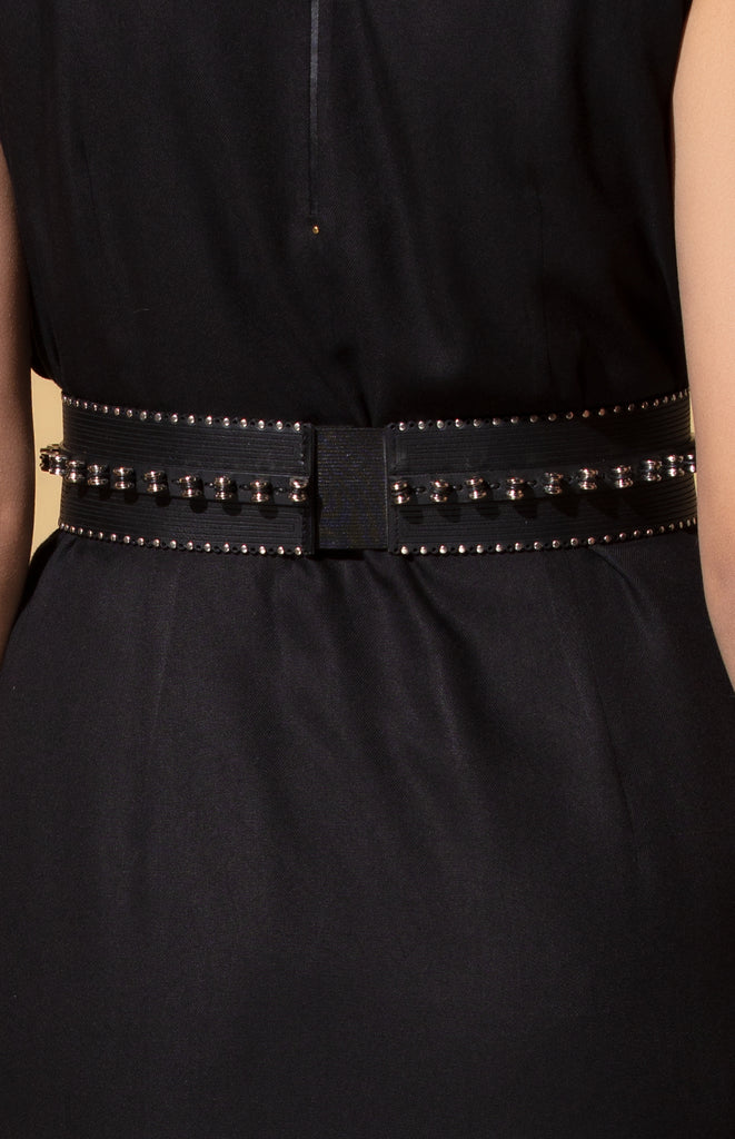 Ngozi Tan Belt in Leather