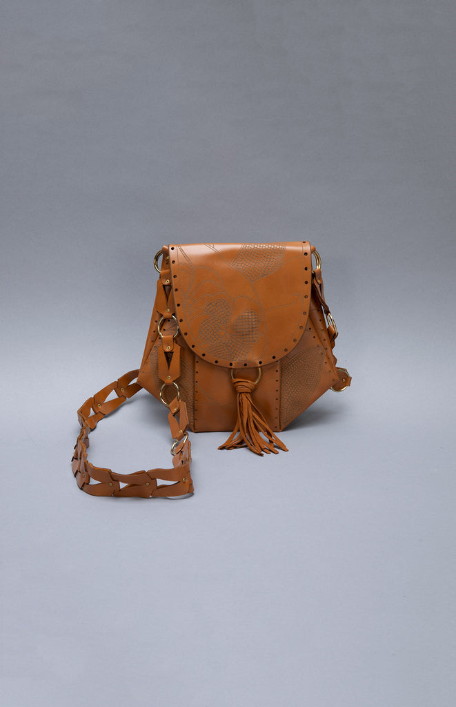 Kai Tan Crossbody Bag in Leather