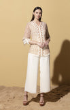 Buhle Ivory Shirt in Georgette