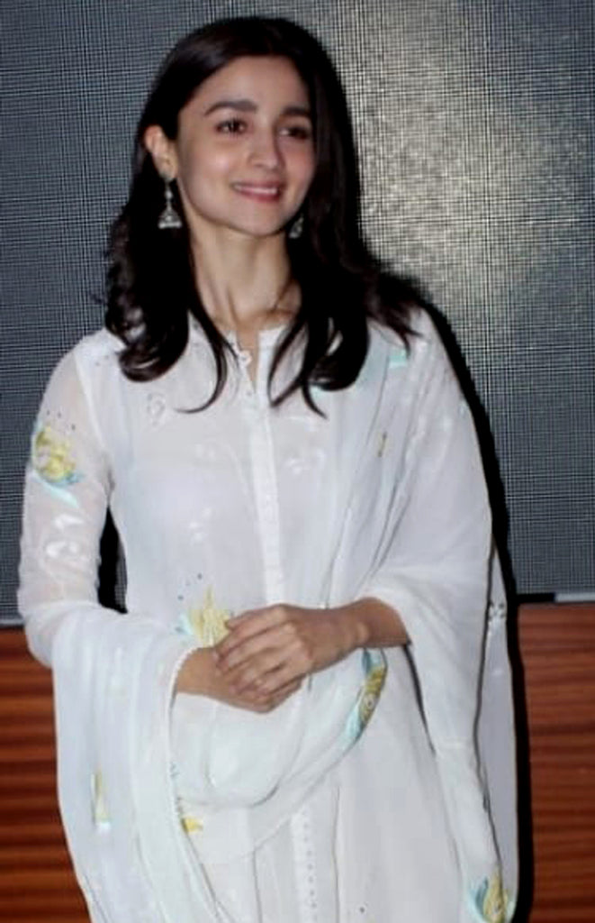 Alia in Ivory Suit Set