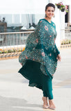 Kajol in Green Anarkali Suit