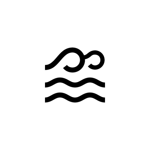 Symbol of a water brand