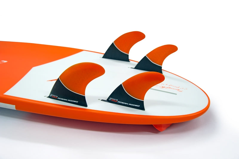 Option for quad fin setup