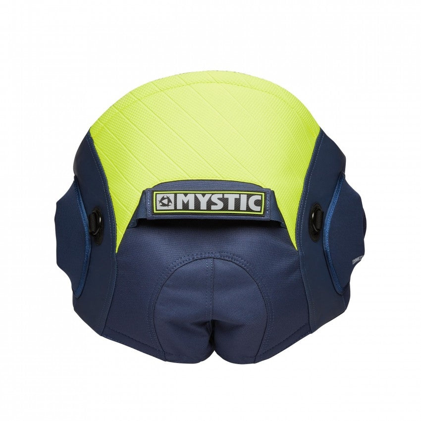 Mystic Aviator Seat Harness - Navy/Lime 2020