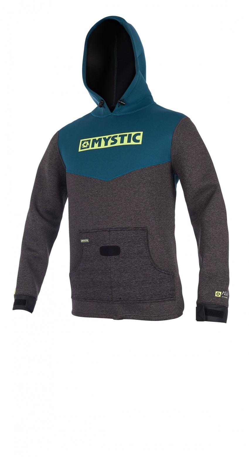 Mystic Voltage Sweat Top - Teal