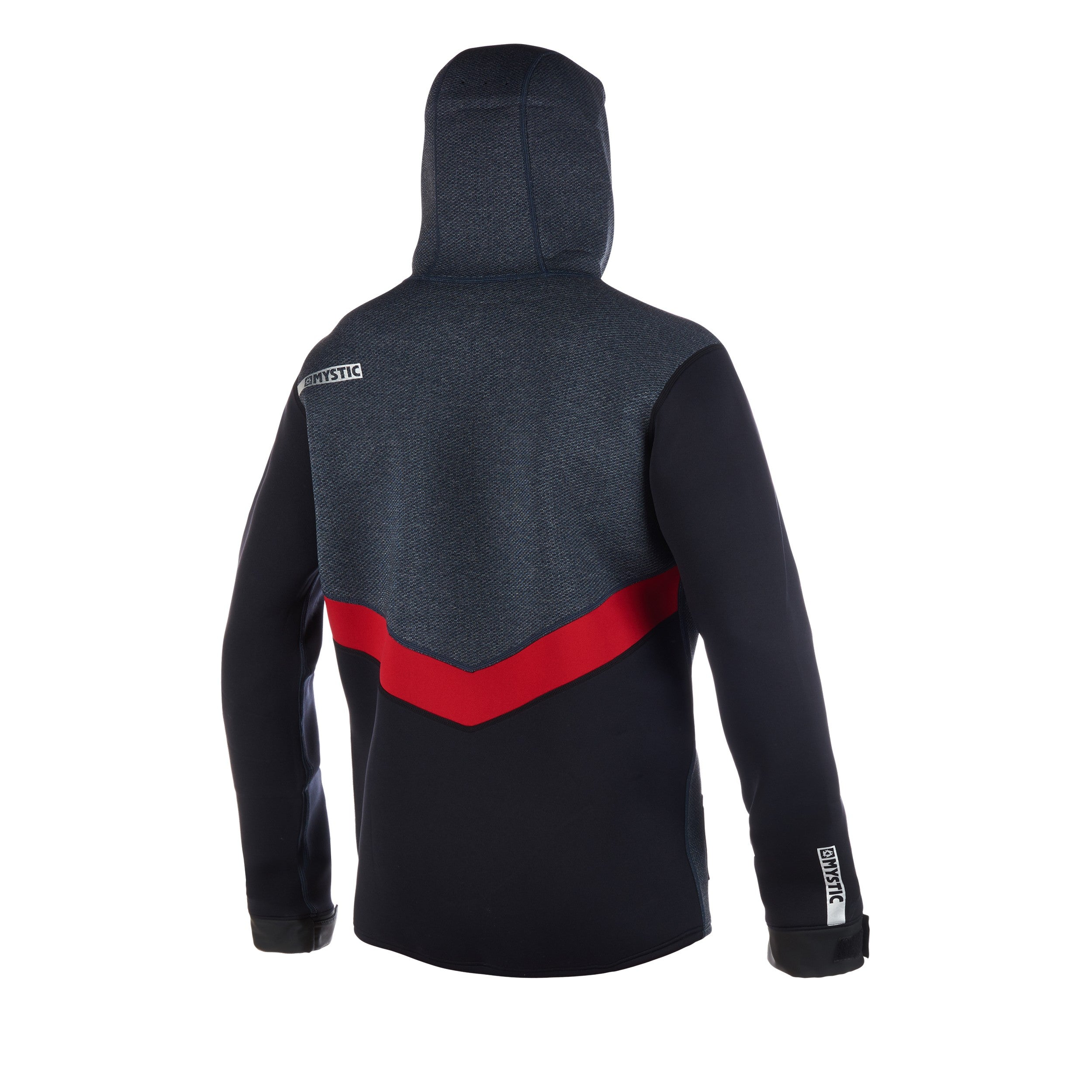 Mystic Voltage Sweat Top - Navy/Red