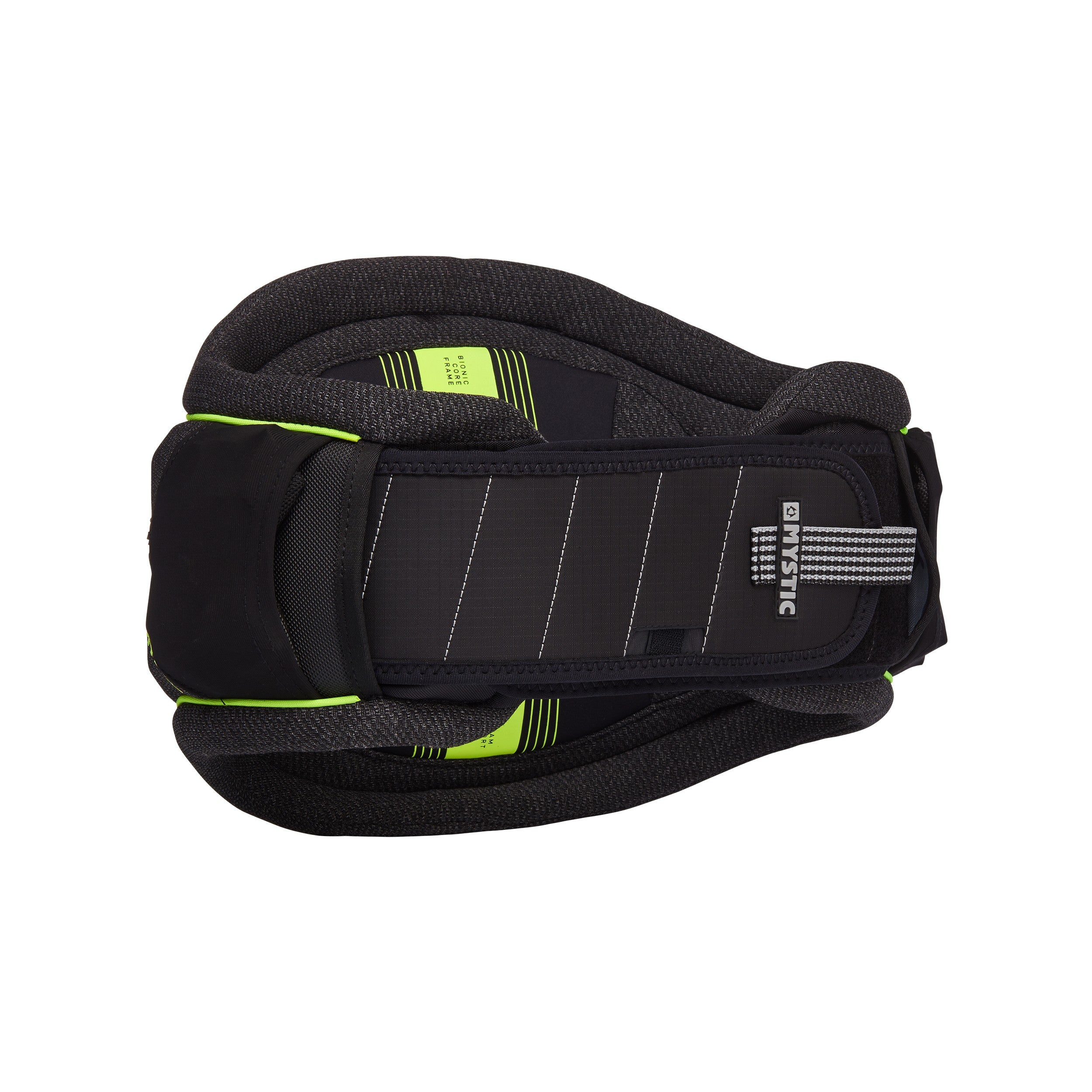 Mystic Majestic Waist Harness - Black/Lime