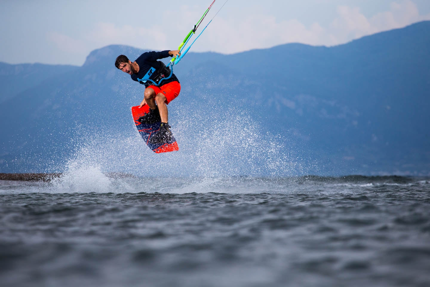 Kiteboard with great pop