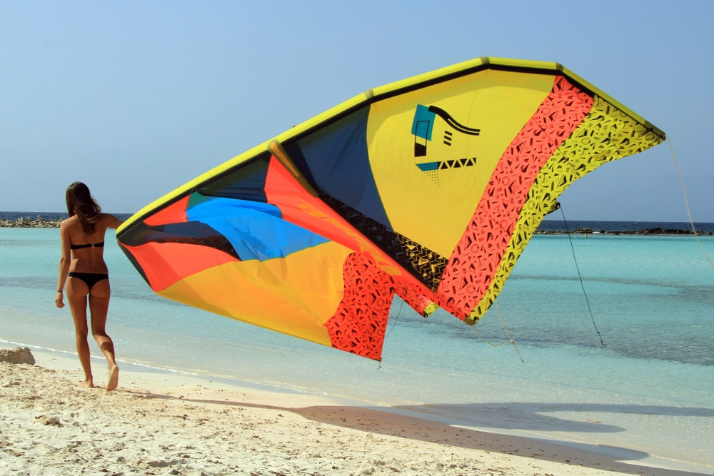 Kitesurfing quality kite build