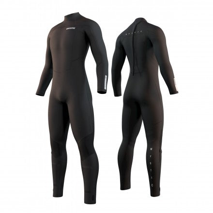 2021 Mystic Marshall 5/3 Back Zip Wetsuit - Black (LOW STOCK)