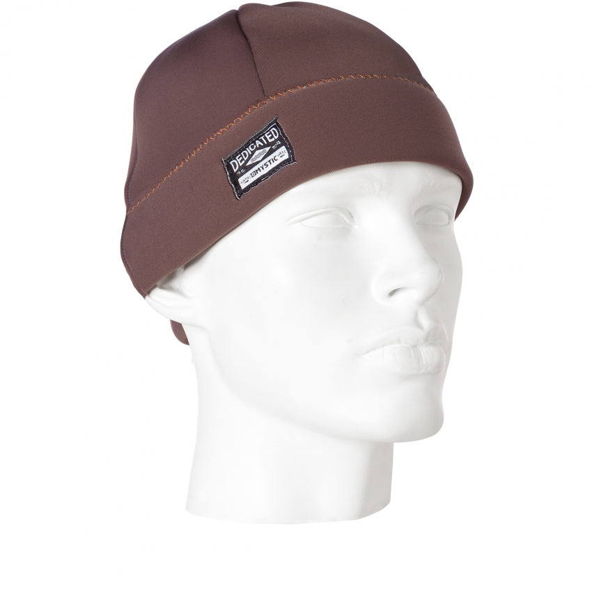 Mystic Neoprene Beanie Brown