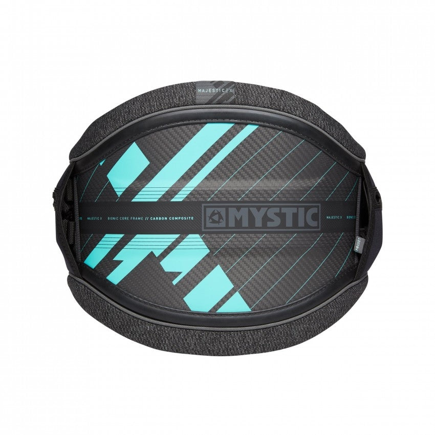 Mystic Majestic X Waist Harness - Black/Mint 2020