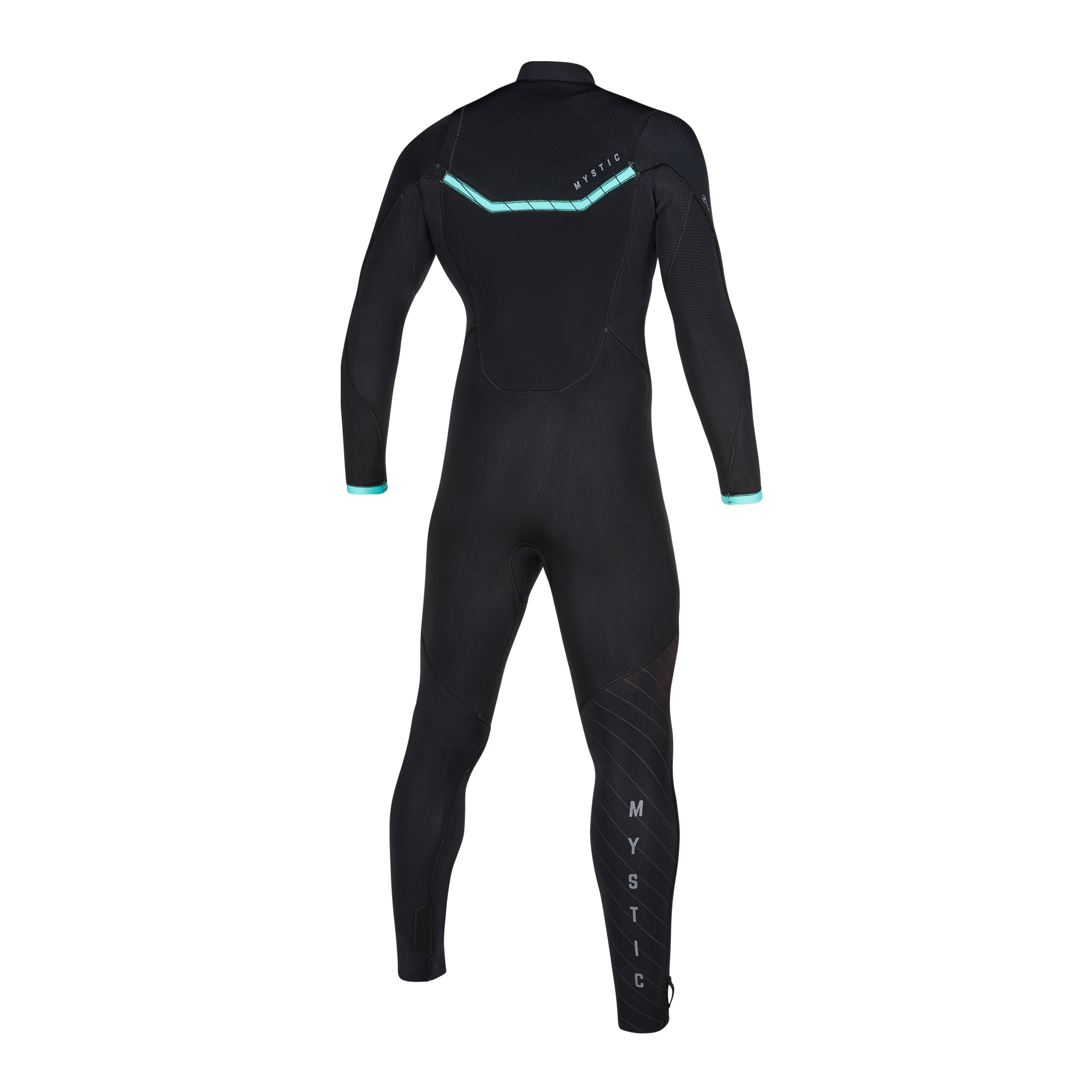 Marshall 4/3 Front Zip wetsuit Black / Mint