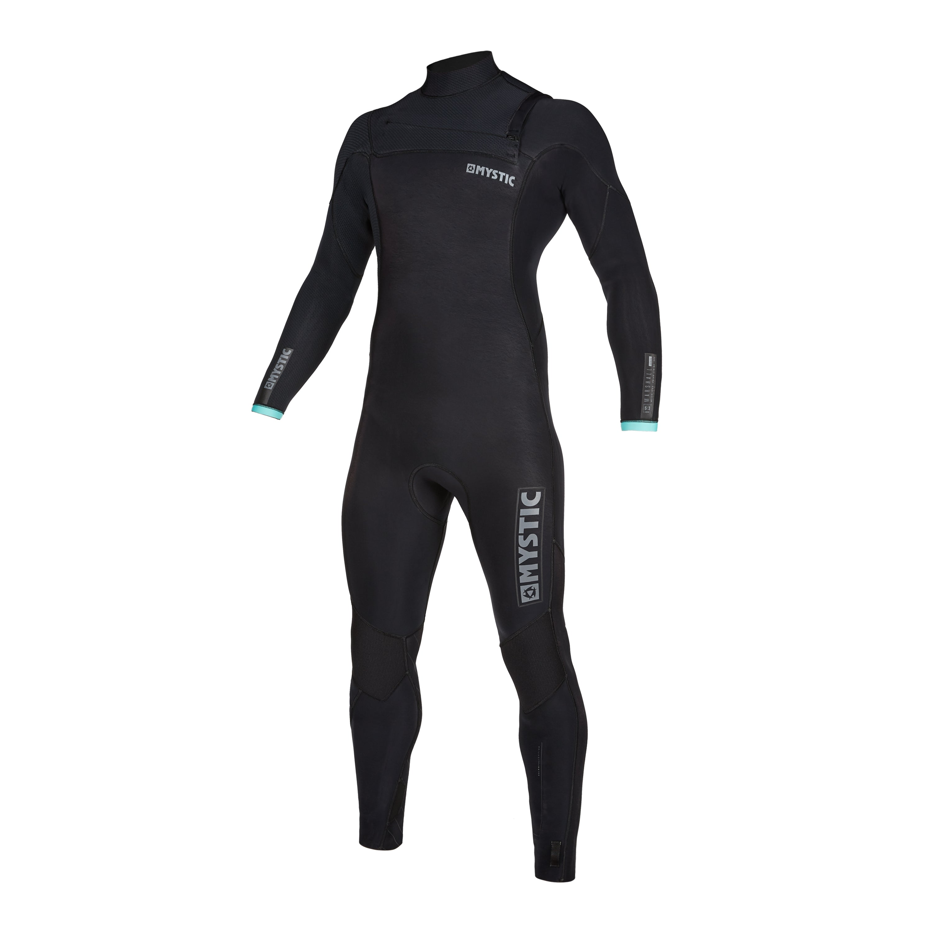 Mystic Marshall 4/3 Front Zip wetsuit Black / Mint
