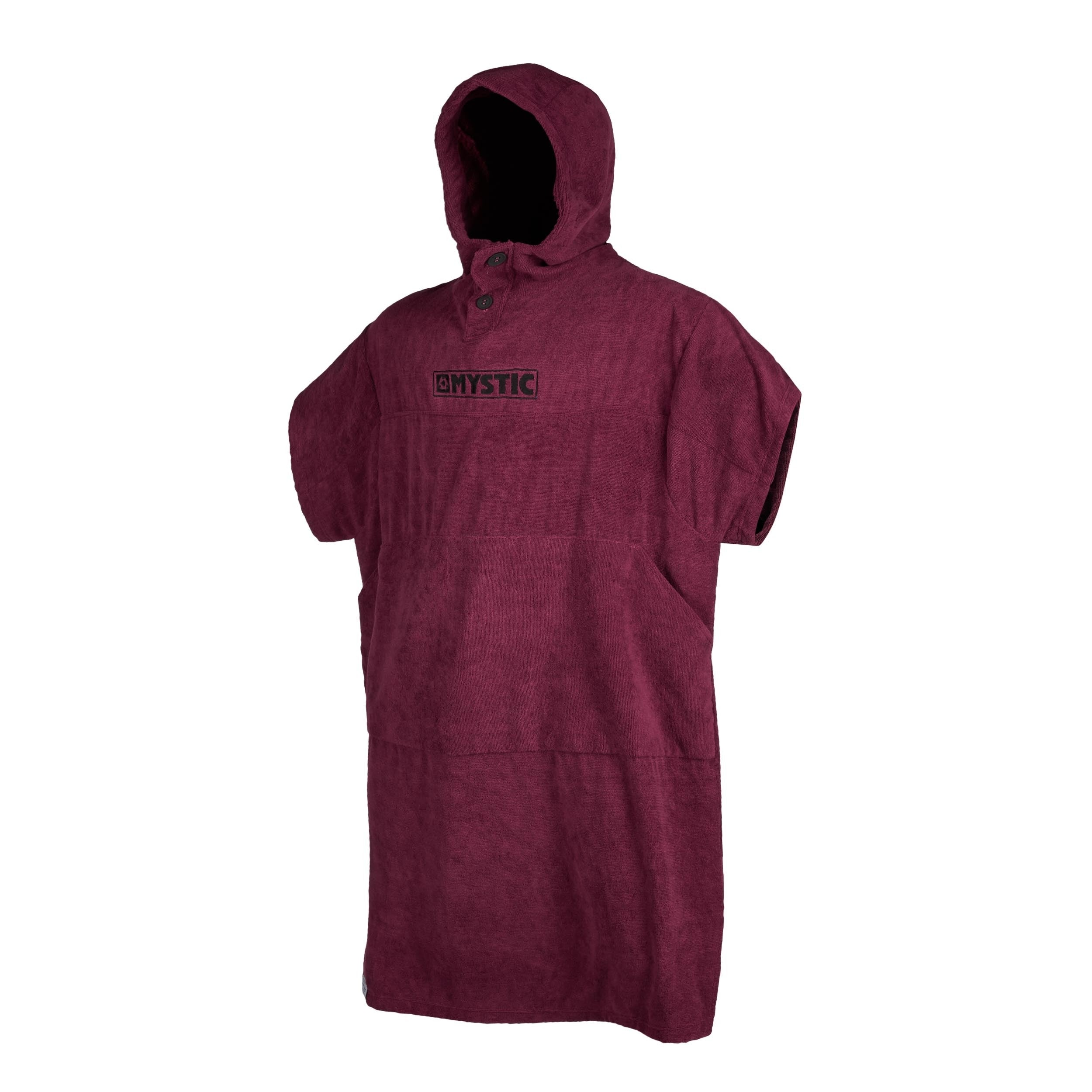 Mystic Poncho Oxblood Red