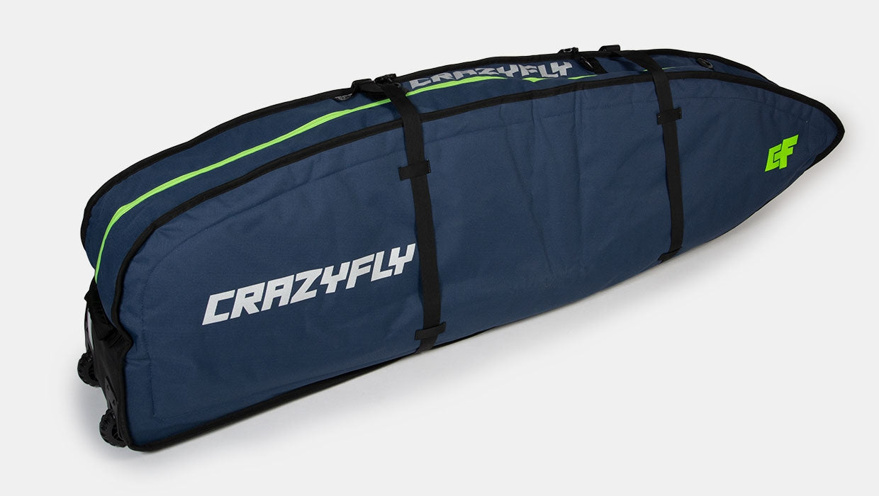 CrazyFly Surfboard Roller Bag 6' 2