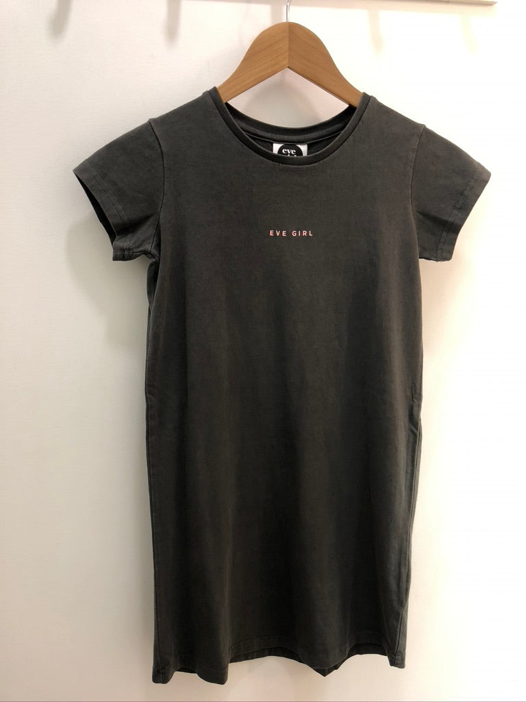 EVE GIRL WASHED TEE DRESS