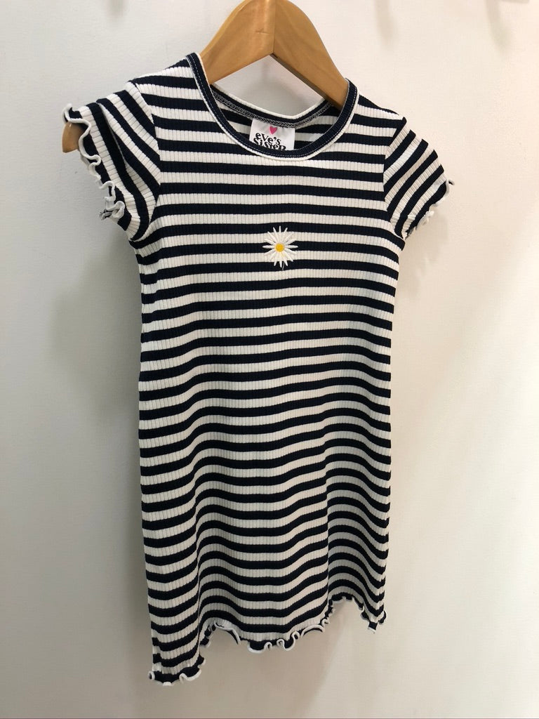 DAISY RIB DRESS