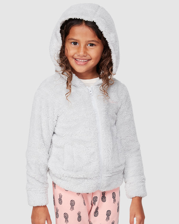 LITTLE TED HOODED ZIP THRU