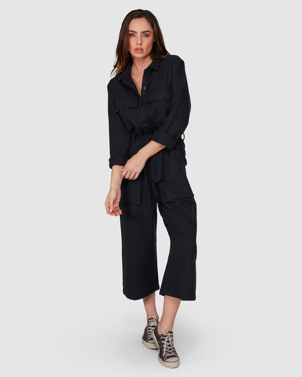 WORK AT IT JUMPSUIT