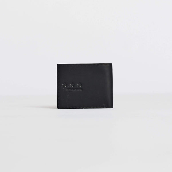 BLACK STAR BI-FOLD WALLET