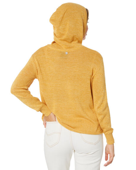 SOLID KNITTED HOODY