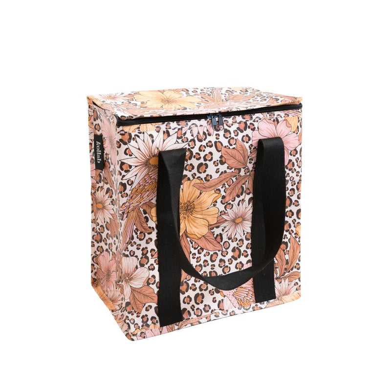 COOLER BAG LEOPARD FLORAL