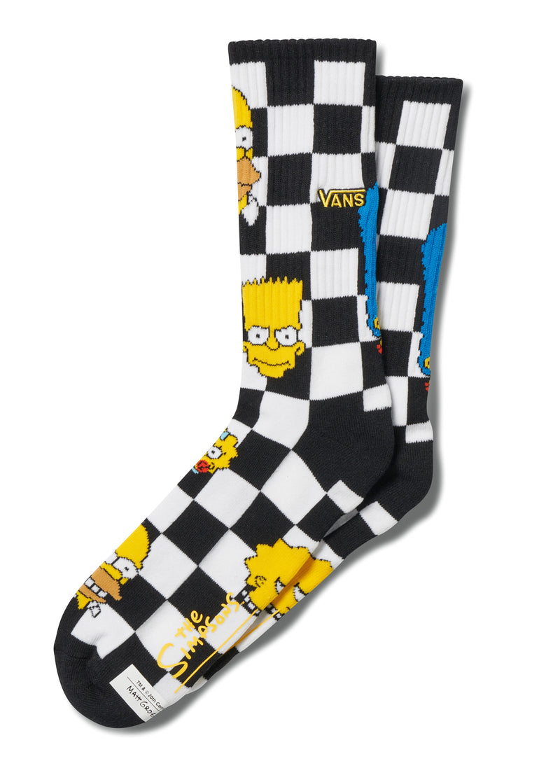 THE SIMPSONS CREW SOCKS