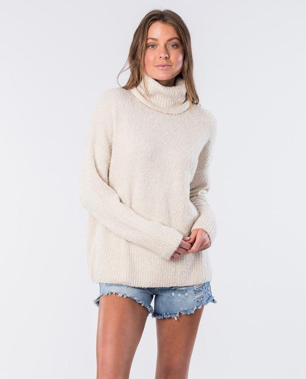 LOWERS ROLL NECK KNIT