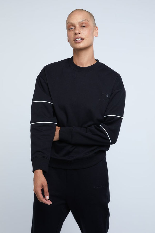 HOOPED SLEEVE WINDCHEATER