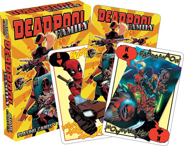 MARVEL - DEADPOOL FAMILY PLAYING CARDS