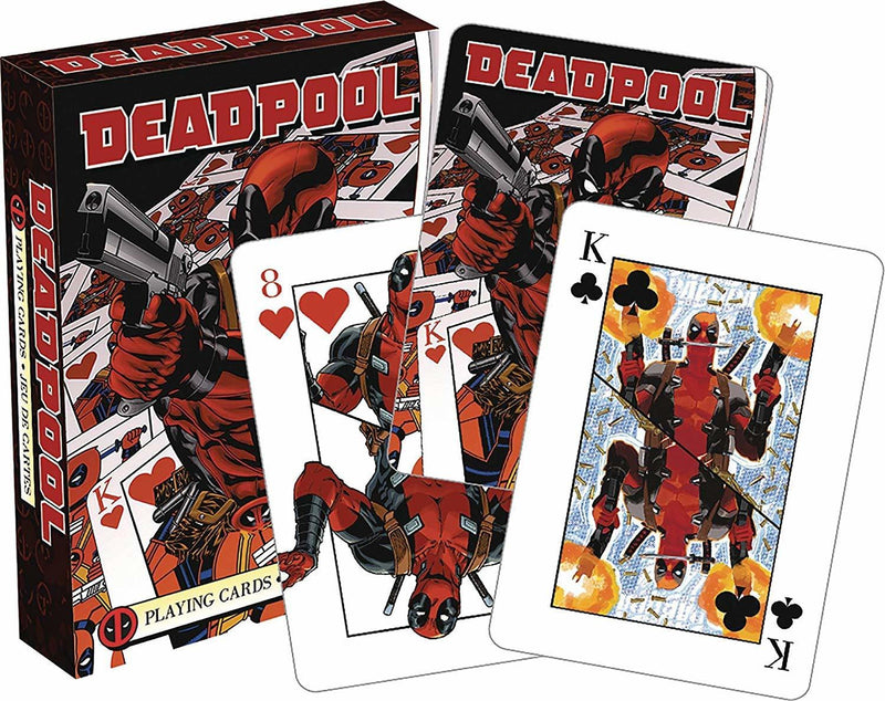 MARVEL DEADPOOL - MIRROR PLAYING CARDS