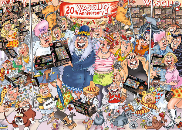 WASGIJ ORIGINAL #27- THE 20TH PARTY PARADE