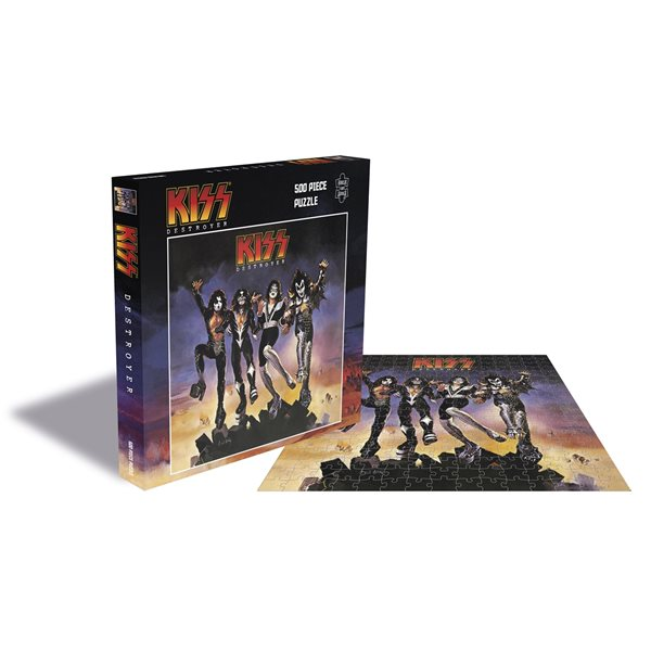 KISS - DESTROYER 500PC PUZZLE