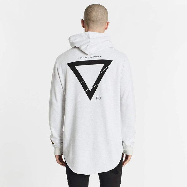 RENOUNCE HOODED DUAL CURVED SWEATER