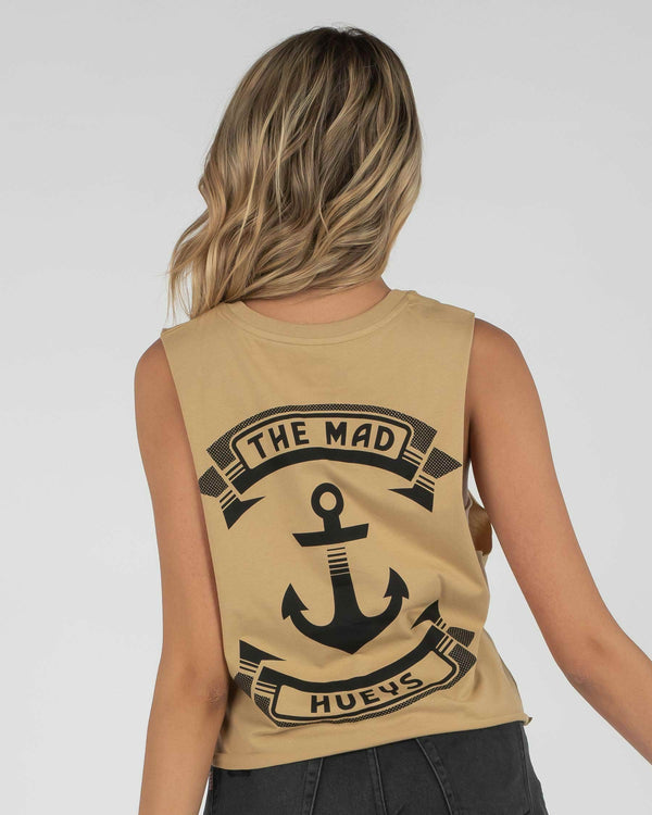 RETRO ANCHOR WOMENS CRO MUSCLE