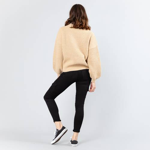 ESSENCE CREW NECK KNIT