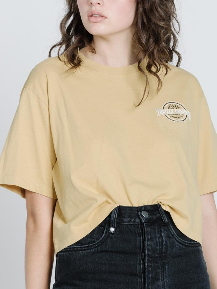 BYRON BORN MERCH CROP TEE