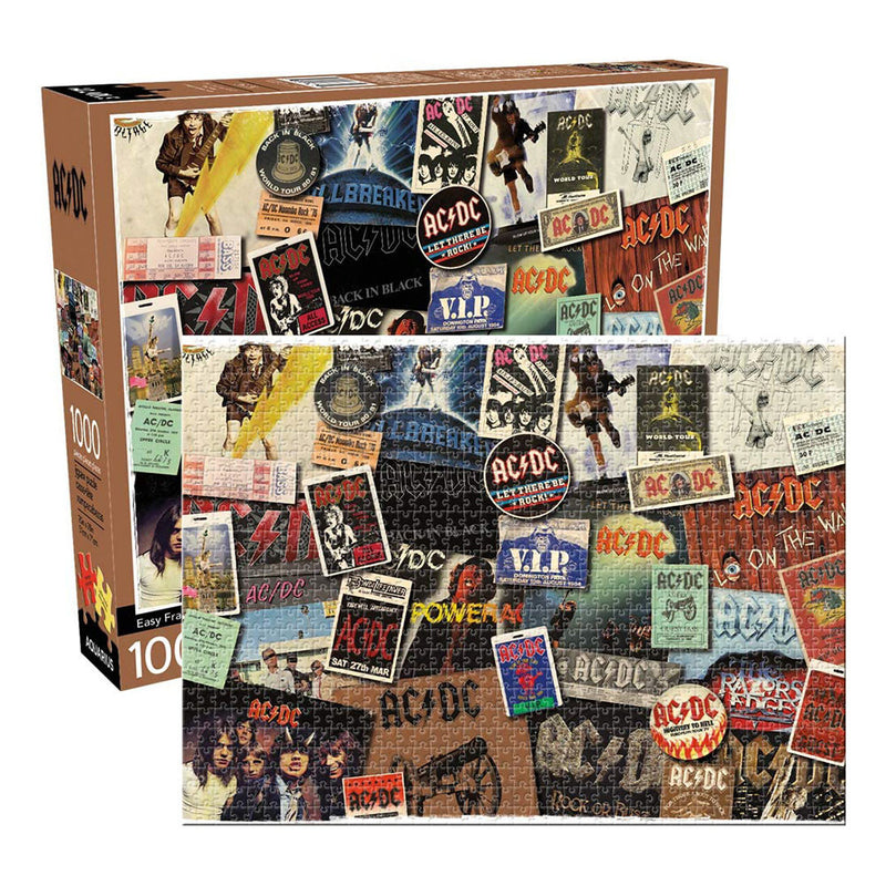 ACDC - ALBUM COVER COLLAGE 1000PC
