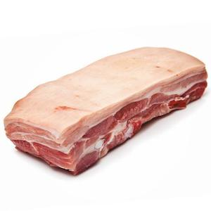 Pork Belly Slab (skin on bone less) - 2kg
