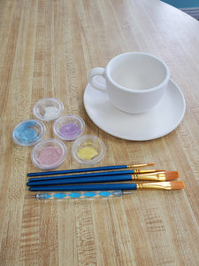 Tea Cup and Saucer Kit