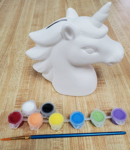 Unicorn Bank Kit- Basic Acrylic