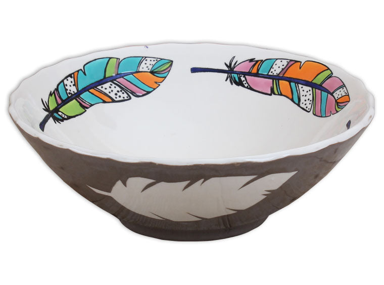 Cinched Serving Bowl