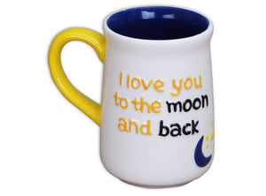 Moon and Back Mug