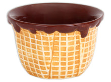 Load image into Gallery viewer, Waffle Cone Bowl