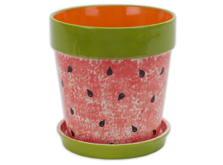 XL Flower Pot w/Tray
