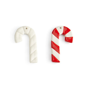 Candy Cane Flat Ornament