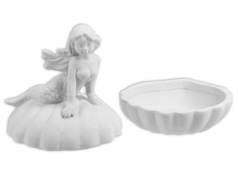Mermaid Shell Box