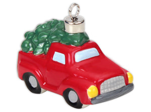 Tree in a Truck Ornament- 3D